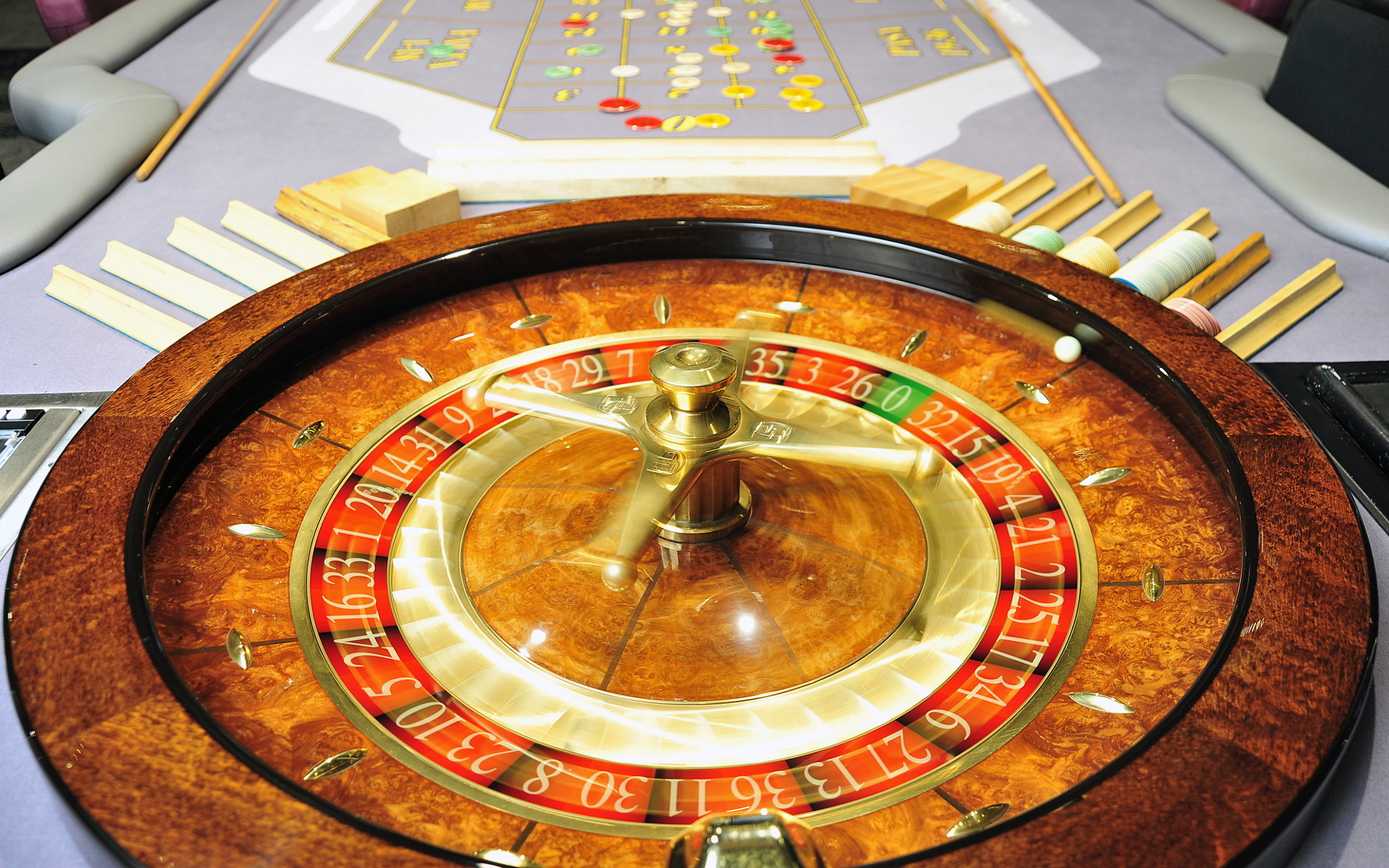 French term for roulette